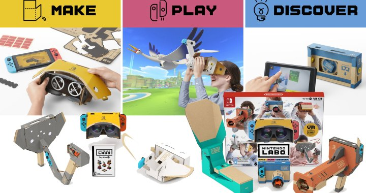 Experience Family-Friendly VR with Hippos, Aliens, Photography and More in New Nintendo Labo: VR Kit