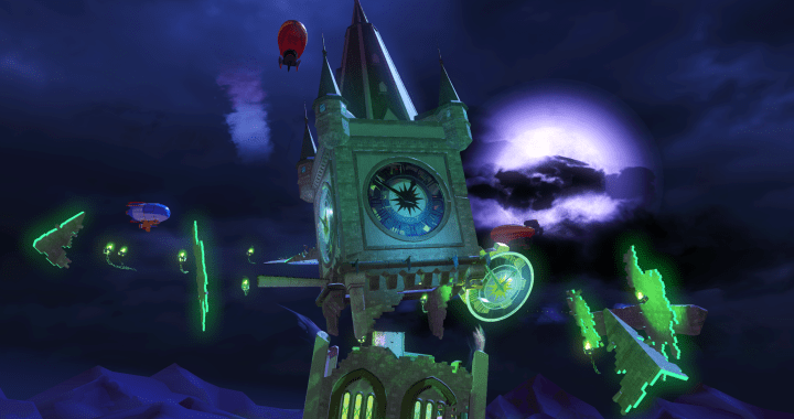 Team Sonic Racing Gets Spooky With Haunted Castle Map
