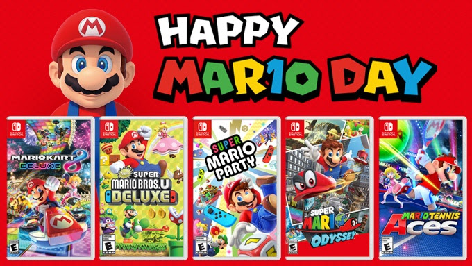 MAR10 DAY Games