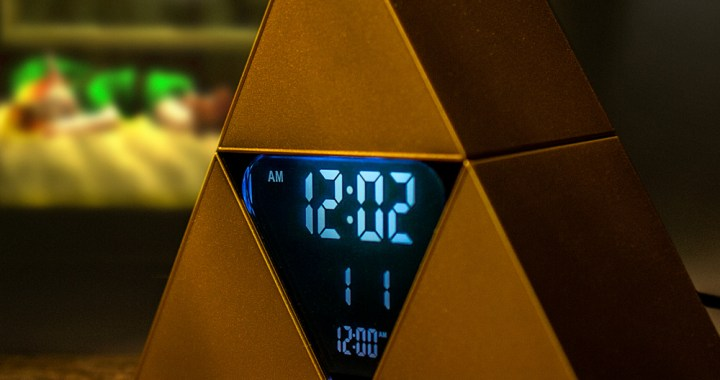 Legend Of Zelda: Time To Save Hyrule Triforce Alarm Clock