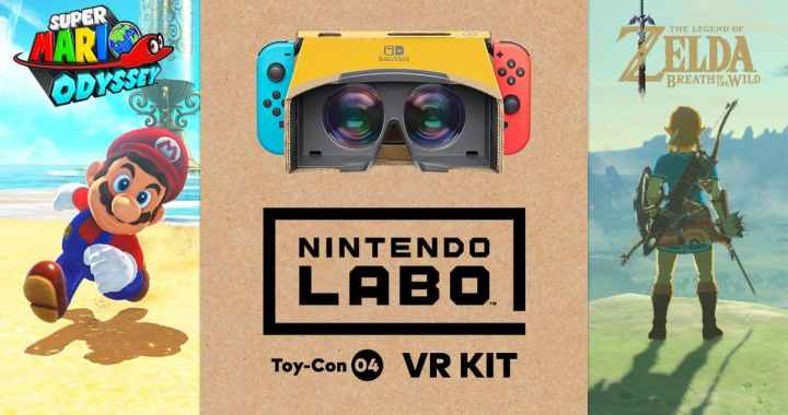 Super Mario Odyssey And Breath Of The Wild to get VR Update