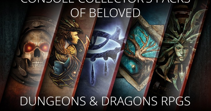 SKYBOUND GAMES AND BEAMDOG REVEAL CONSOLE COLLECTOR'S PACKS OF BELOVED DUNGEONS & DRAGONS RPGS, NOW AVAILABLE TO PRE-ORDER