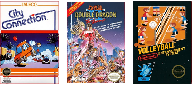 Nintendo Entertainment System – Nintendo Switch Online - Double Dragon II: The Revenge, City Connection, Volleyball