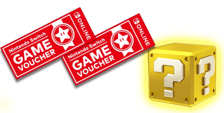 limited-time Nintendo Switch Game Vouchers