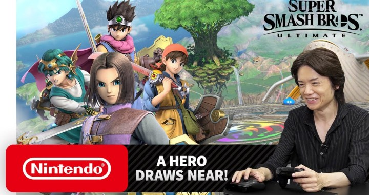 Hero from the DRAGON QUEST Series Joins Super Smash Bros. Ultimate