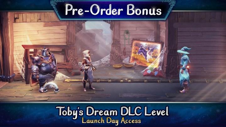 Pre-order bonus