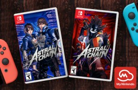 Celebrate the launch of ASTRAL CHAIN with My Nintendo!