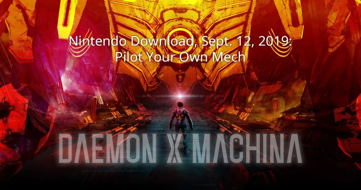 Nintendo Download, Sept. 12, 2019: Pilot Your Own Mech