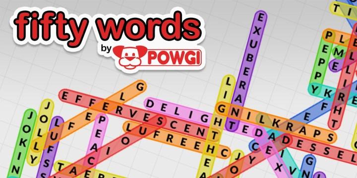 Fifty Words by POWGI