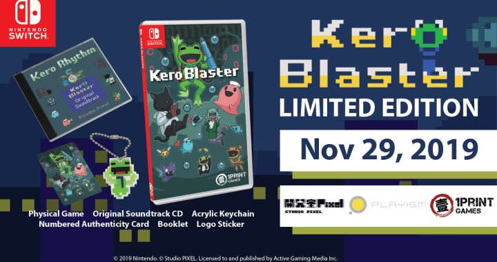1Print Games Announces Nintendo Switch Physical Editions For Kero Blaster