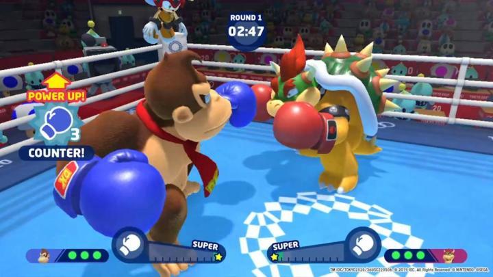 3D event - Boxing