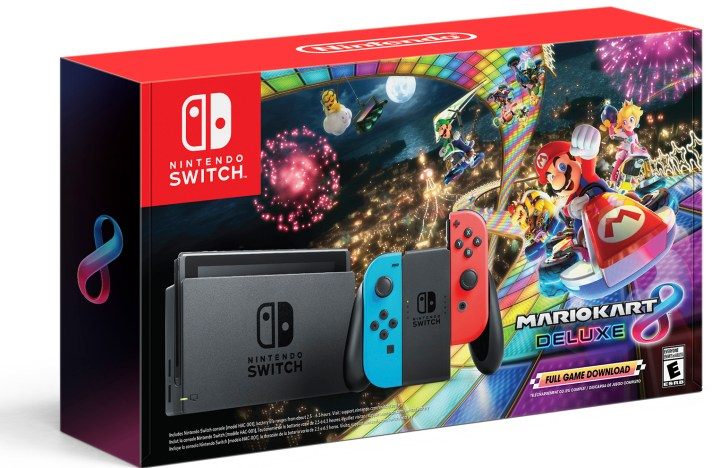 Switch Bundle with Mario Kart 8 Deluxe
