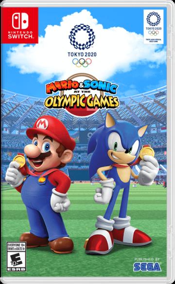Mario & Sonic at the Olympic Games Tokyo 2020 - box art