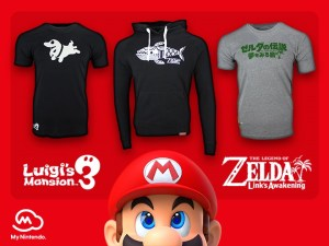 Sport Your Love for Nintendo Switch Games With Exclusive Clothing