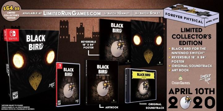 Black Bird- Limited Collectors Edition