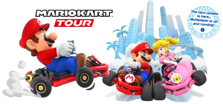 New update for the Mario Kart Tour game
