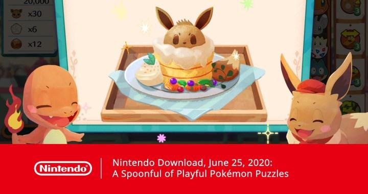 Nintendo Download, June 25, 2020: A Spoonful of Playful Pokémon Puzzles