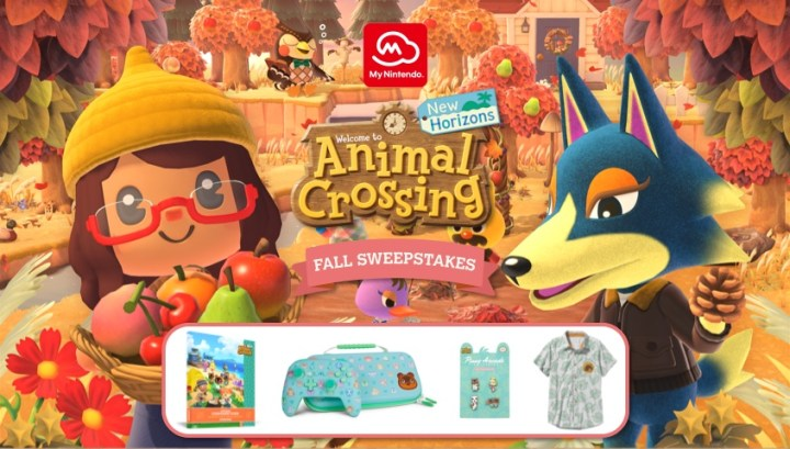 Animal Crossing: New HorizonsFall Sweepstakes!