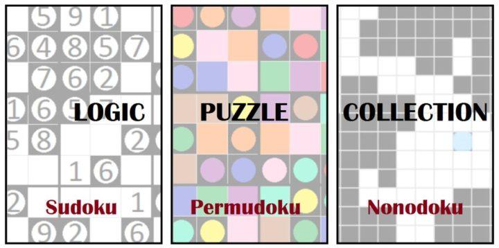 Logic Puzzle Collection: Sudoku - Permudoku - Nonodoku