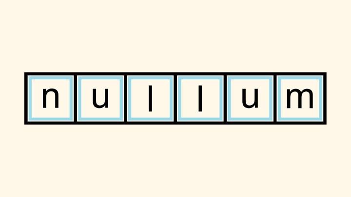Nullum