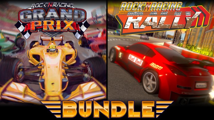 Rock 'N Racing Bundle Grand Prix & Rally