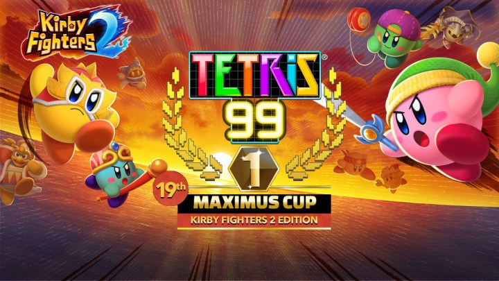 Kirby Delivers Some Tetris® 99 Fun – The 19th MAXIMUS CUP event