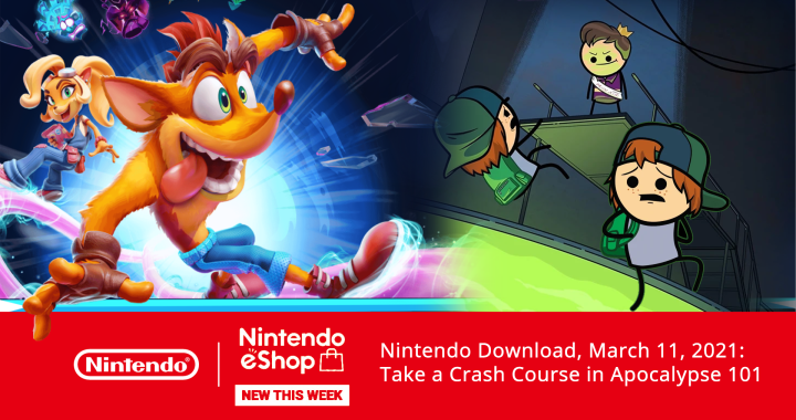 Nintendo Download, March 11, 2021: Take a Crash Course in Apocalypse 101