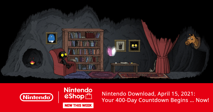 Nintendo Download, April 15, 2021: Your 400-Day Countdown Begins … Now!