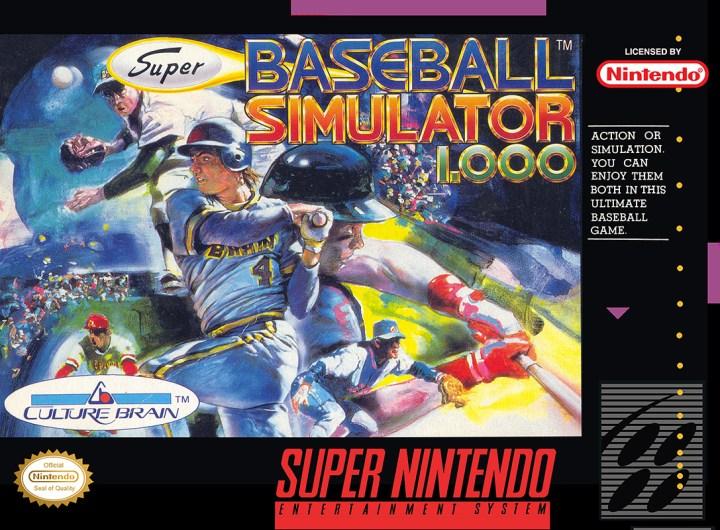 Super Baseball Simulator 1.000
