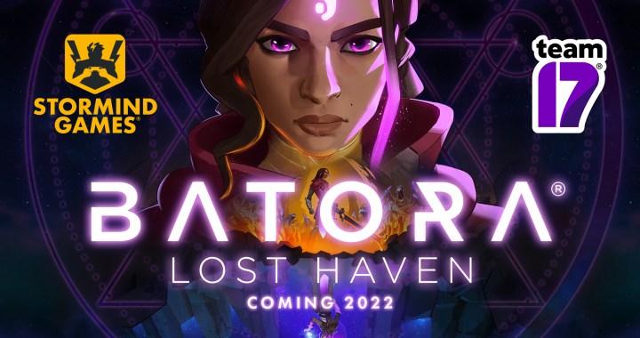 Banner announcement Batora Lost Haven Team17 Stormind Games