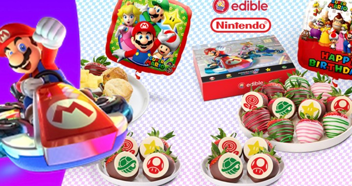 Nintendo and Edible®have teamed up to put you in the driver's seat for your next gift-giving occasion.