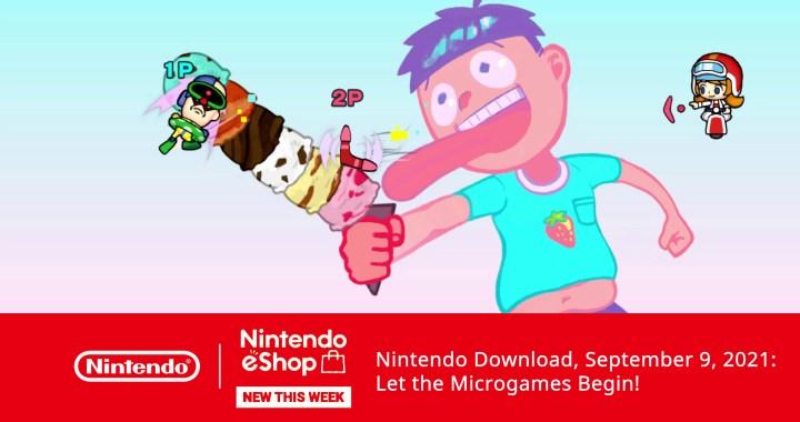 Nintendo Download, Sept 9, 2021: Let the Microgames Begin!