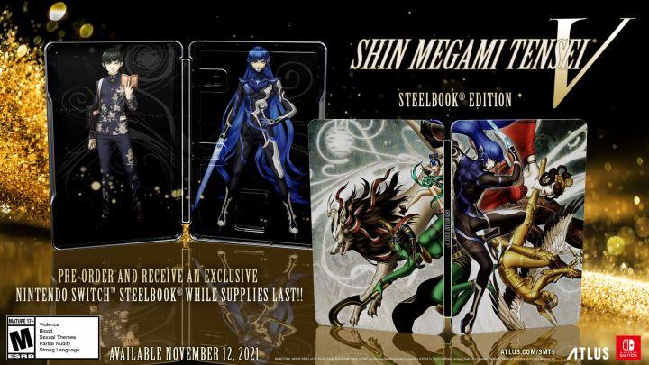 Shin Megami Tensei® V Steelbook