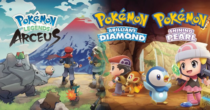 NEW DETAILS AND TRAILERS REVEALED FOR UPCOMING POKÉMON BRILLIANT DIAMOND, POKÉMON SHINING PEARL, AND POKÉMON LEGENDS: ARCEUS GAMES