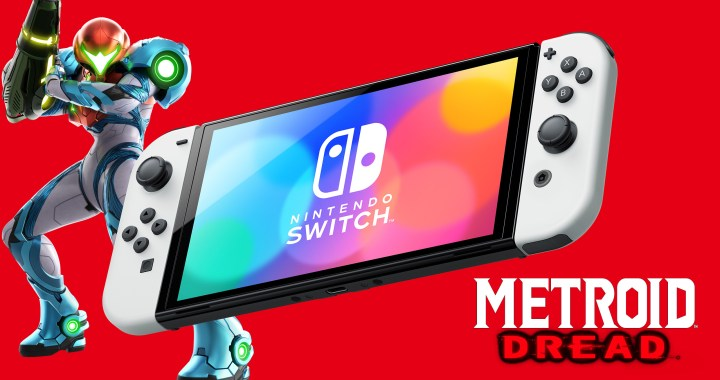 NINTENDO SWITCH – OLED MODEL AND METROID DREAD ARE NOW AVAILABLE IN STORES