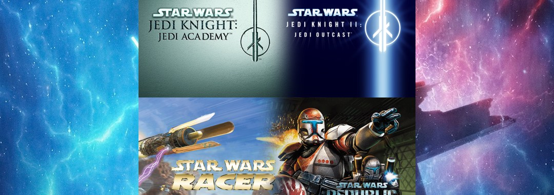 Star Wars™ Jedi Knight Collection andStar Wars™ Racer and Commando Combo
