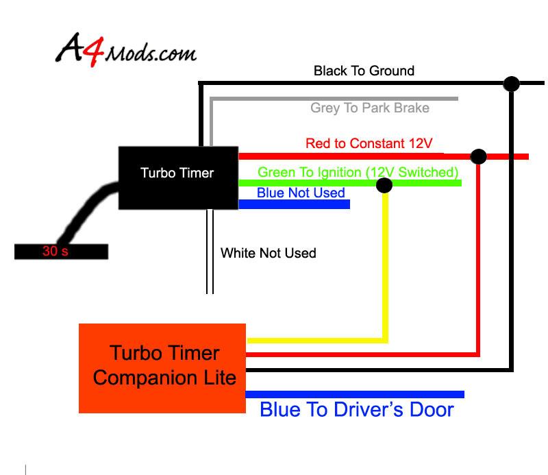 Apexi Turbo Timer Wiring Diagram - Wiring Diagram