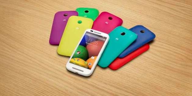 Motorola lança Moto E no Brasil a partir de R$ 529