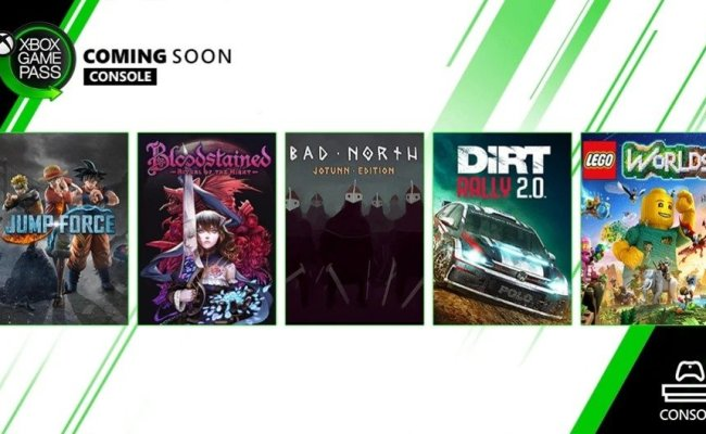 Five Games Coming Soon To Xbox Game Pass Including