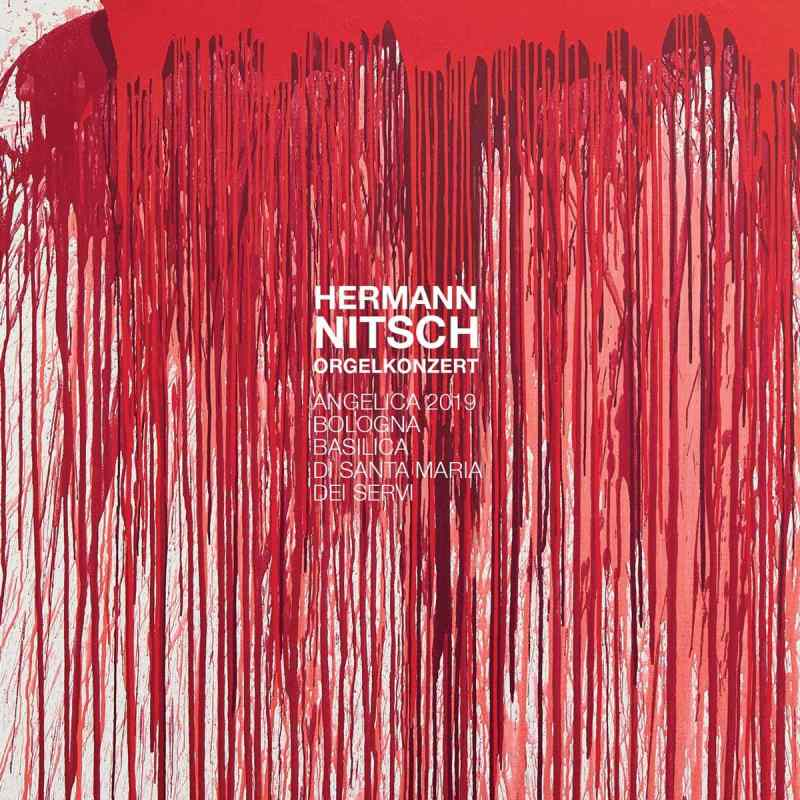 Hermann Nitsch ORGELKONZERT Cover