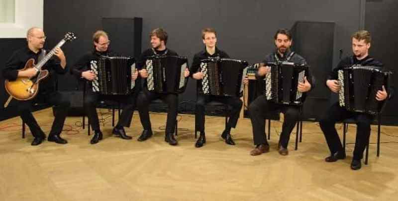 Simone Spinaci e l'Accademia Fisarmonicistica