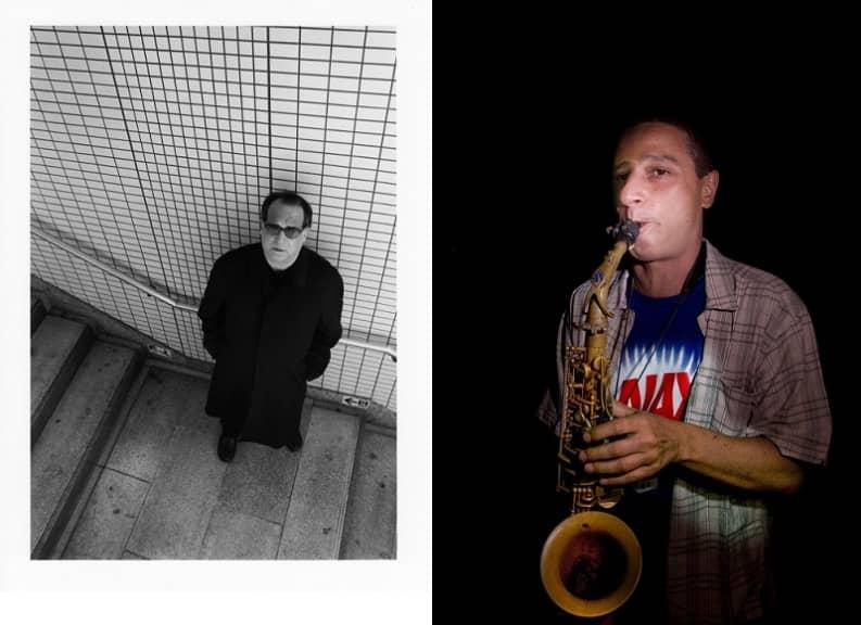 Carl Stone (phot by David Agasi) & Gianni Gebbia (photo by F. Vicari)