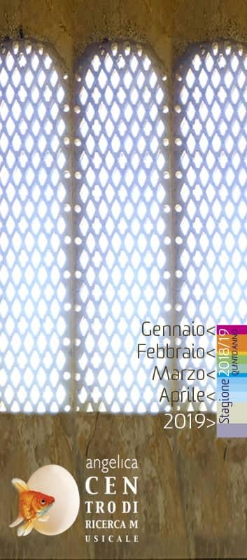 Programma Centro di Ricerca Musicale Stagione 2018 > 2019 – quinto anno - gennaio > febbraio > marzo > aprile > 2019