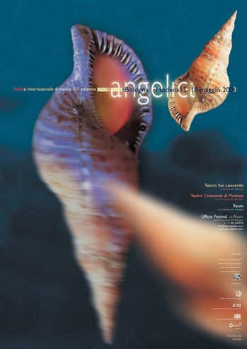 Poster - Festival AngelicA 13, 2003 - aaa art angelica