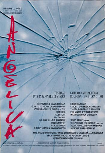 Poster - Festival AngelicA 1, 1991 - aaa art angelica
