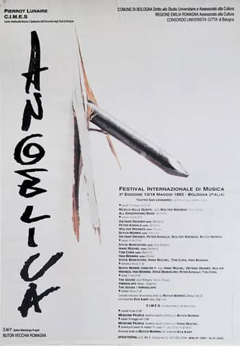 Poster - Festival AngelicA 3, 1993 - aaa art angelica