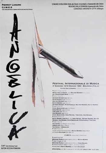 Poster - Festival AngelicA 3, 1993 - aaa art angelica