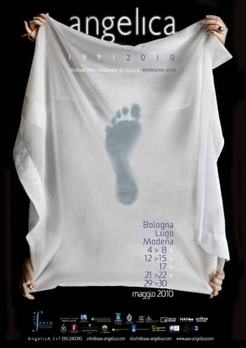 Poster - Festival AngelicA 20, 2010 - aaa art angelica