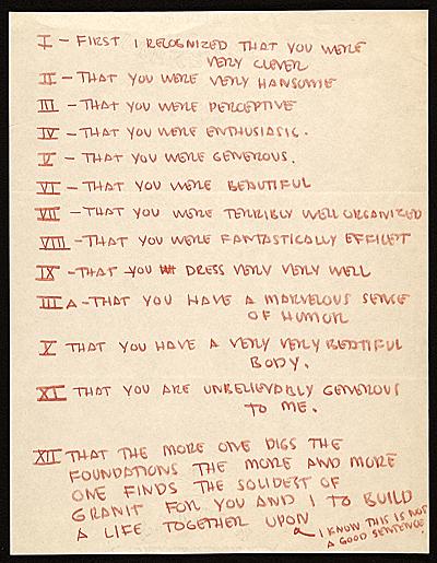 Eero Saarinen letter to Aline B. (Aline Bernstein) Saarinen