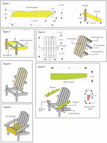 Pdf Plans Diy Adirondack Chair Pattern Download Blueprints